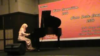 gertrudes dream waltz yamaha piano competition 2014 makassar