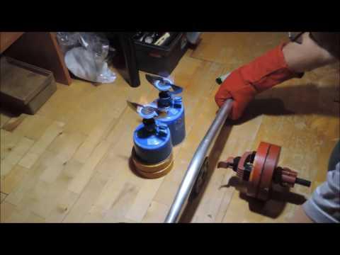 Согнуть алюминиевую трубу