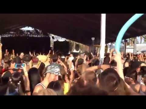 Flosstradamus and Waka Flocka TTU Too Turnt Up at Coachella 2014