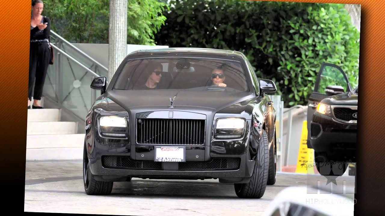 Kim Kardashian Gets Ticket for Sding in Rolls Royce ...