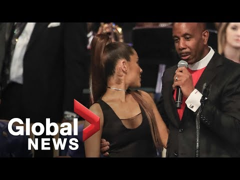 Ariana Grande allegedly groped by preacher at Aretha Franklin funeral