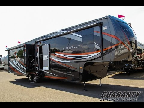 2016 Lifestyle Luxury RV 38RS Fifth Wheel Video Tour O Guaranty