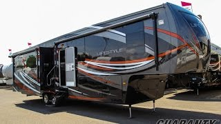 2016 Lifestyle Luxury RV 38RS Fifth Wheel Video Tour • Guaranty.com