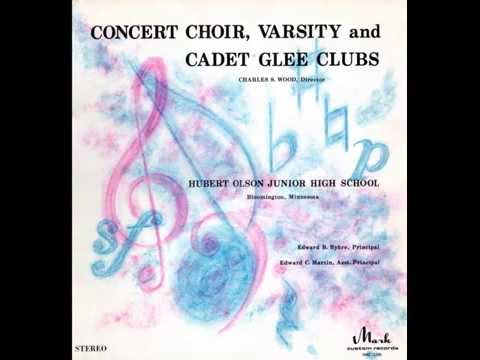 Concert Choir, Varsity and Cadet Glee Clubs / Hubert Olson Junior High School 1970