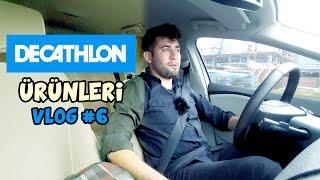 VLOG #6 - Decathlon'dan Alışveriş Yapmak [4K]