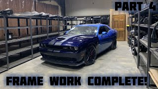 Rebuilding a Wrecked 2016 Dodge Hellcat Part 4