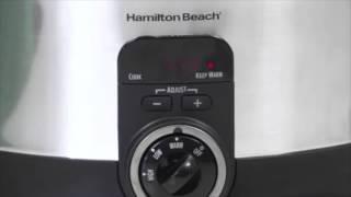 Hamilton Beach Simplicity Programmable Slow Cooker (6-Quart)   33565
