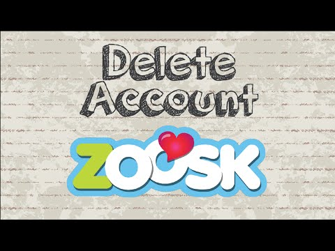 delete zoosk dating profile