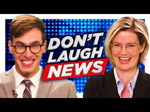 The Don't Laugh Newsroom Challenge