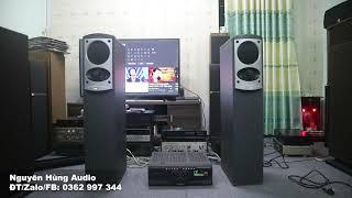 bộ ampli và loa Karaoke MỸ NHẬT tuyệt vời giá 22 triệu
