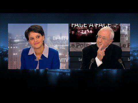 BFM Politique : Najat Vallaud-Belkacem face à Alain de la Morandais