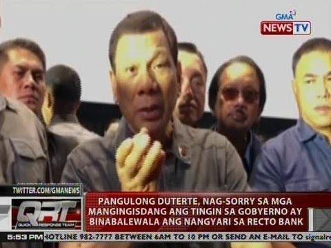 QRT: PRRD, nag-sorry sa mga mangingisdang ang tingin sa gobyerno ay ...