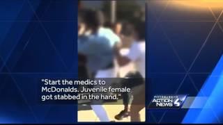 Violent East Liberty brawl caught on camera