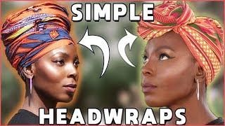 Beginner-Friendly Headwrap Tutorial   Easy-To-Follow
