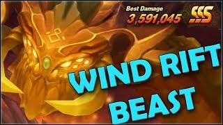 SUMMONERS WAR : Чудовище ветра (Wind Beast) - обзор пати/комбинации + Конкурс на ПАКИ в игре ✔⚔
