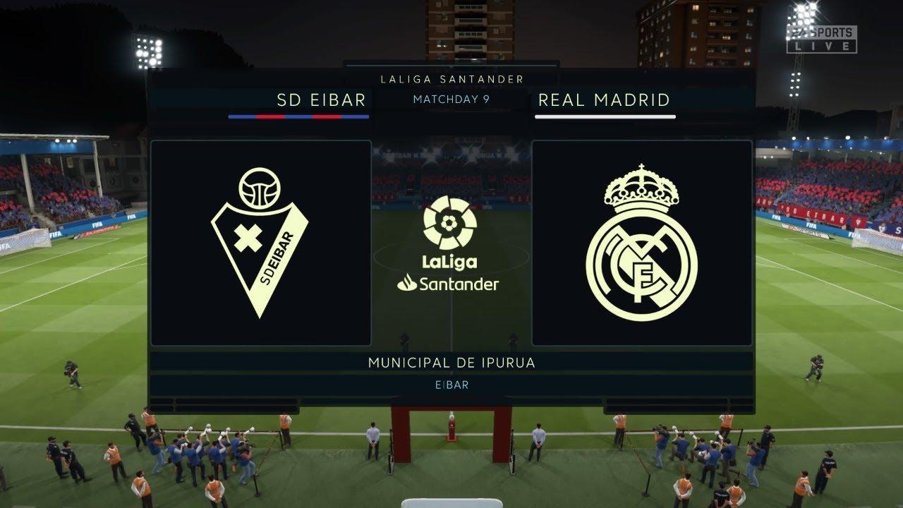 Soi kèo Eibar vs Real Madrid, 0h30 ngày 10/11 - Vòng 13 La Liga