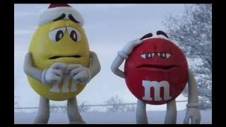 M&M's Commercial 2017 Faint Christmas Eve