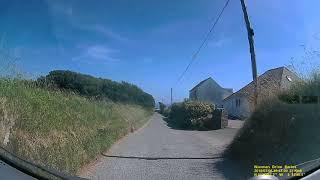 St Davids Wales - Road to Caefria Bay Campsite 6-7-2018