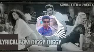 Bom Diggy Diggy Bom Hard Boss Mix By DJ Golu Verma Aranjram