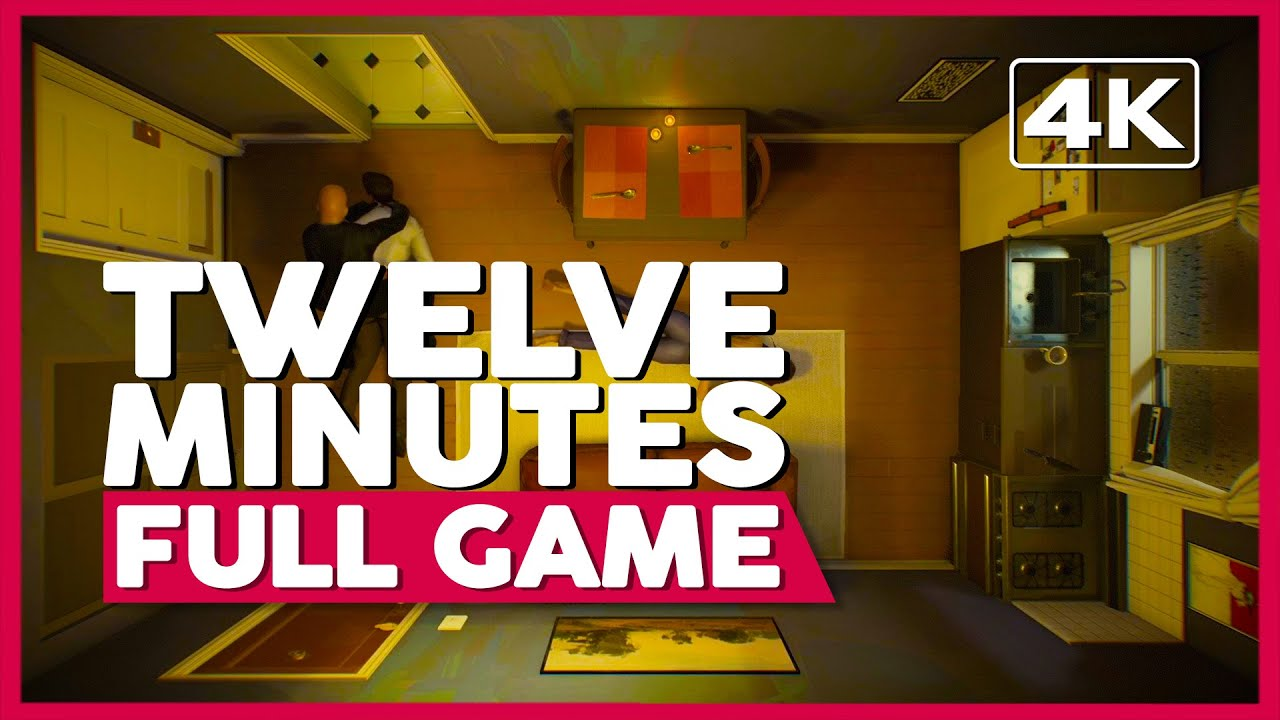 Twelve Minutes | Full Game Playthrough | No Commentary [PC 4K 60FPS]