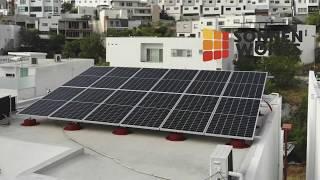 Sonnen Works - Instalación paneles solares en Colinas del Valle, Monterrey NL