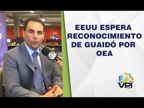 Estados Unidos espera reconocimiento de Guaidó por miembros de la OEA - VPItv Mundo