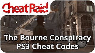 The Bourne Conspiracy Cheat Codes | PS3
