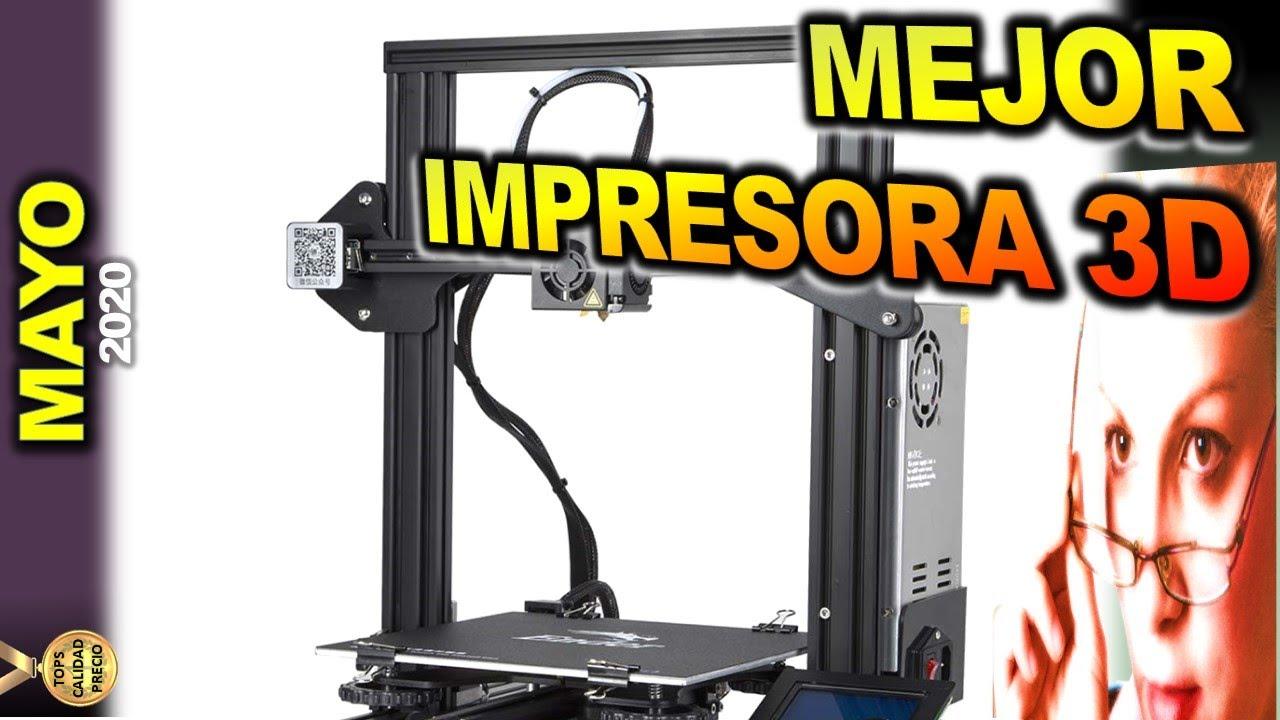 Mejor Impresora 3d Tops Calidad Precio 2020 Mayo Youtube