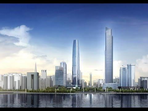 Update 3/2017 Supertall GUANGZHOU CTF Finance Centre 530m 1739ft 111 fl