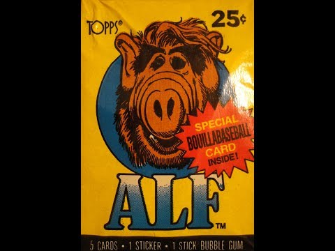 What's Inside - Alf Series 1 Trading Cards (1988, Topps)