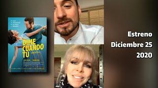 """Verónica Castro y Jesús Zabala - Vivo de @cinepolismx - Diciembre 25 ESTRENO de """"Dime cuando tú"""""""