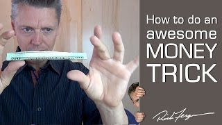 How to Levitate a Dollar Bill Anytime Anywhere!