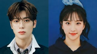 Jaehyun NCT (재현) and Eunseo WJ…
