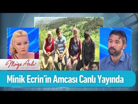 Minik Ecrin'in amcası canlı yayında - Müge Anlı ile Tatlı Sert 10 Mayıs 2019