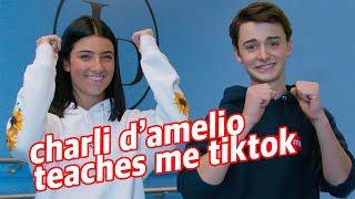 Charli D'Amelio Teaches Me TikTok Dances! | Noah Schnapp