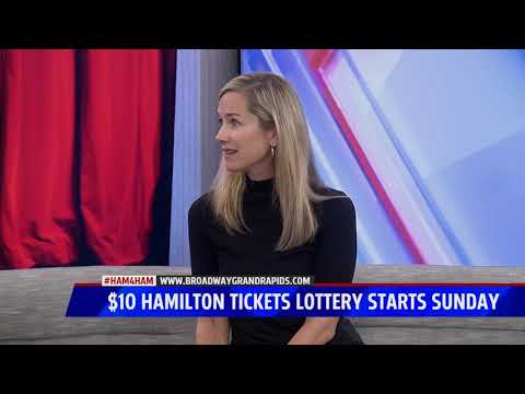 $10 Hamilton Tickets Lottery