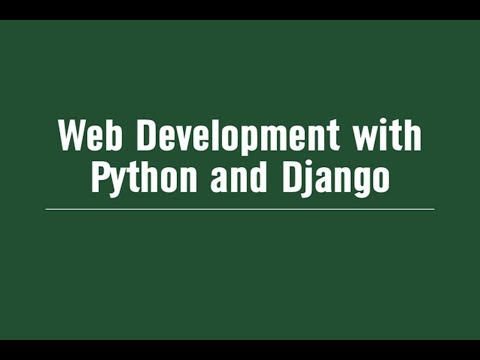 Python full e commerce project  Tutorial Part 1 Django Installation