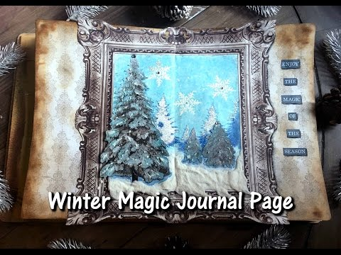 Winter Journal Page