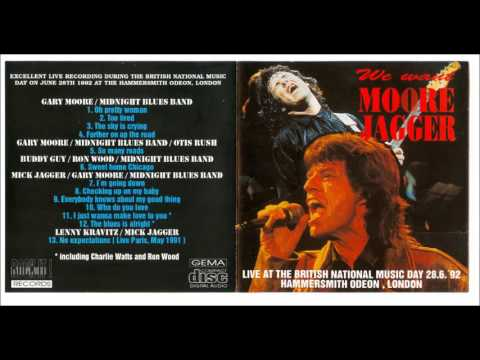 Gary Moore  Feat.  Mick Jagger - 12. The Blues Is Alright - Hammersmith Odeon, London