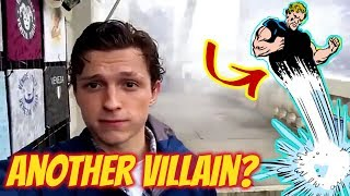 Spider-Man Far From Home VILLAIN Revealed by Tom Holland in this New Set Video?