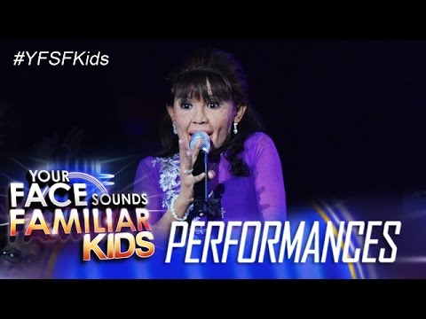 Your Face Sounds Familiar Kids: Awra Briguela as Mommy Dionesia Pacquiao