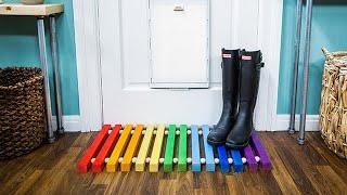 DIY Door Mat - Home & Family