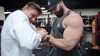 STEVE WILL DO IT ARM DAY