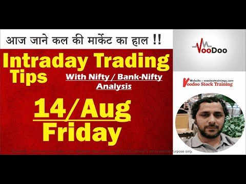 Best Intraday Stocks for 14 Aug | Free Intraday Live Trading Tips | Nifty & Bank Nifty Tips