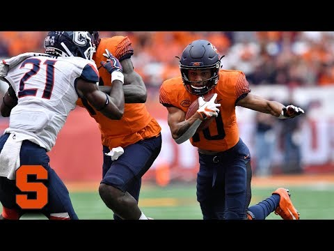 Syracuse's Sean Riley Returns Punt 69 Yards for TD vs. UConn Mp3