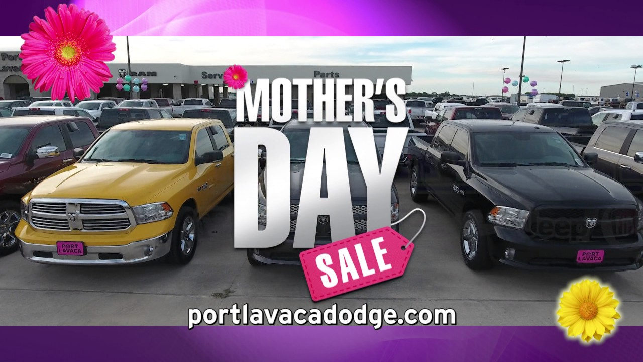 Port Lavaca Dodge Motheru0027s Day Sale // May 2017