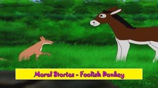 Foolish Donkey | Murkh Gadhedo | Gujarati Moral Stories For Kids | Gujarati Varta For Children