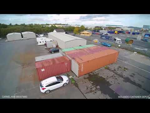 Midlands Container Depot Clonminam Industrial Estate,  Portlaoise, Co. Laois, Ireland.