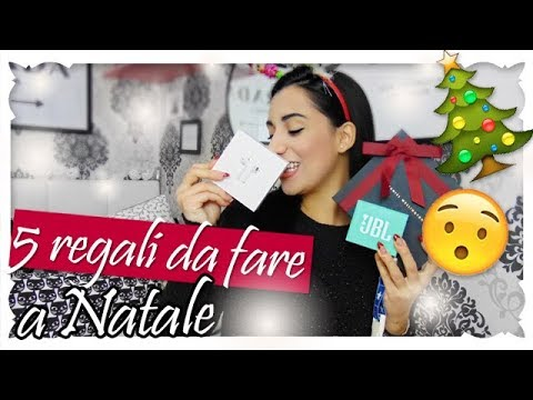 5 regali da fare a natale youtube