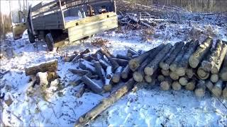 Заготовка дров.Штили в деле.
